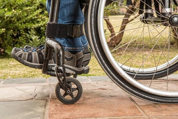 Personne handicapée
