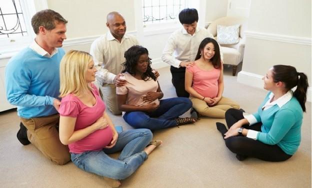 Séances de préparation à l'accouchement