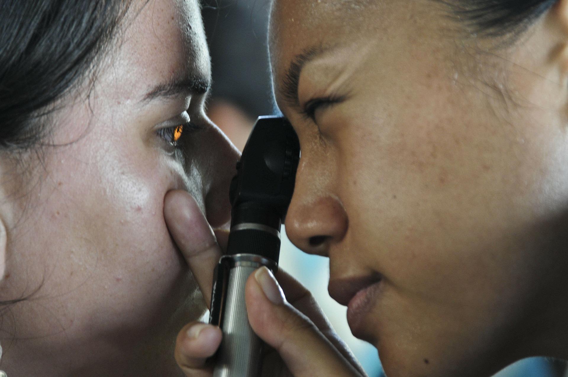 Consultation d'ophtalmologie