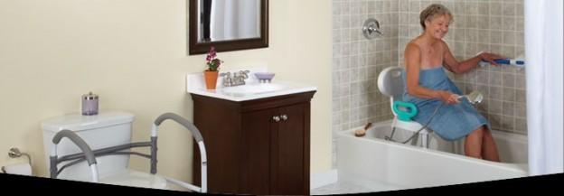 Aménagement d'une salle de bain pour seniors