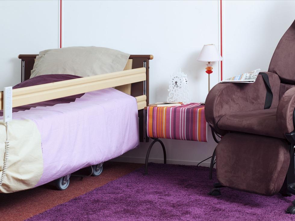 Les avantages d'un lit médicalisé