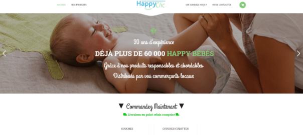 Découvrez notre site de couches HappyClic