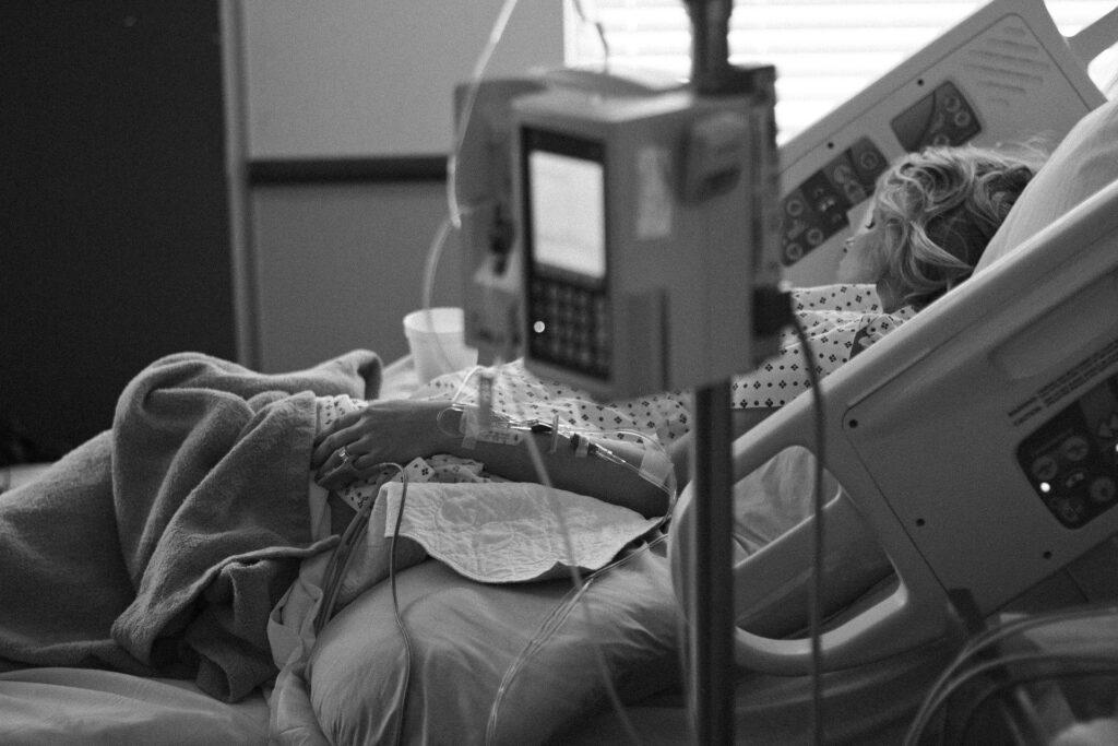 Les matelas de prévention d'escarres sont particulièrement recommandés lorsque le patient est immobilisé dans son lit.